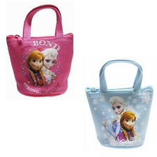 Frozen Queen Elsa Anna Kids Baby Coin Purse Goody Girl Party Zipper Bag 10x9CM