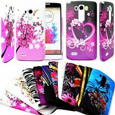 Flower Soft Rubber Silicone Gel Phone Case Cover Protective For LG Optimus G3