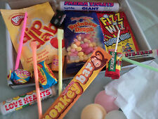 Christmas In The 70's Retro Sweets Gift Box Present Brother Secret Santa Dad Mum