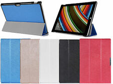 3 Folding Magnetic Folio PU Leather Case Cover For Microsoft Surface Pro 3