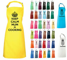 KEEP CALM MUM IS COOKING APRON BAKE OFF PRESENT GIFT MOTHER MUMMY CHRISTMAS