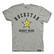 Factory Effex Rockstar Energy All-Star Grey T-Shirt Tee Adult Mens Licensed NEW