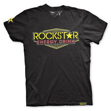 Factory Effex Rockstar Energy Vegas Black T-Shirt Tee Adult Mens Licensed NEW