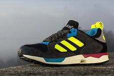 Men's Adidas ZX 5000 RSPN Black Electric Carbon Pink Blue White Running D65568