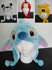 Stitch Lilo Disney plush hat beanie earmuff halloween costumes cosplay Panda USA