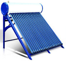 Duda Solar Pressurized Passive Solar Water Heater System Vacuum Heat Pipe Hot As
