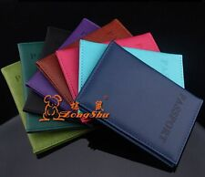 Passport Holder Protector Cover PU Leather Cover Wallet