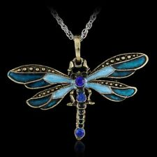 New Classic Dragonfly Women&Men Fashion Sweater Long Chain Pendant Necklace Gift
