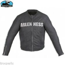 ARLEN NESS LEATHER JACKET MENS CROSS COUNTRY LEATHER MOTORCYCLE VINTAGE JACKET