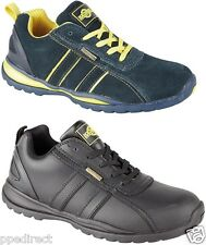 Northwest Territory HOLMAN Safety Trainers Steel Toe Cap Shoes Mens Suede