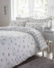 Pink Floral Bedding - Flannelette 100% Cotton