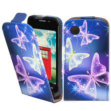 Pu Leather Wallet Flip Case Cover For The LG L40 D160 Single Sim