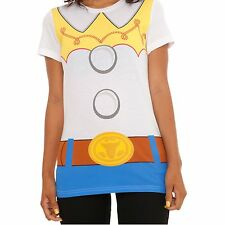 Jessie Toy Story Womens T-Shirt Costume Movie Cowgirl Jesse Pixar Official Adult