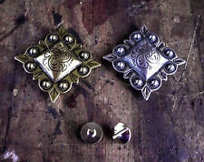Conchos -Western Saddle Headstall - suit belts, hats, bridles, Qty 1