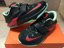Nike KD 6 VII Good Apple Sz 5c-7y GS PS Kids Black Red Bred Bad 669942-600 yeezy
