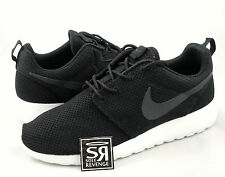 NEW 8.5 Mens Nike Roshe Run Anthracite Sail Black/White 511881 010 loop rosherun