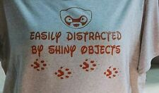 Easily distracted by shiny objects HOODIE S-5XL