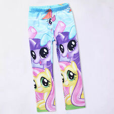 My Little Pony 5-10Y Kids Girls Leggings Tights Pants Spring Autumn Clothes Cute