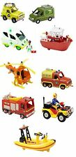 Fireman Sam Vehicles, There are 8 To Choose From! Collect Them All!