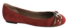 Cole Haan Air Olivia Infinity Womens Girls Leather Cashew Flat Shoes D35603 D43