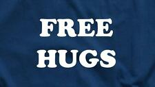 FREE HUGS FUNNY HUMOR COLLEGE PARTY COOL MENS NEW TEE S SLEEVE T-SHIRT ANY SIZE!