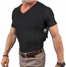 UnderTech Undercover Men's Concealment V-Neck Coolux Shirt 4032