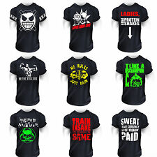 MMA BODYBUILDING GYM FIGHTING  T-Shirt  TRAINING  WORKOUT  MEN  HULK CLOTHING