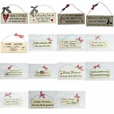 """10"""" x 4"""" Wooden Sign Decor Great for any Wall Decor"""
