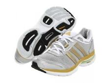 ADIDAS WOMENS MENS ADISTAR SOLUTION 2 RUNNING SHOES TRAINERS RRP £105 GREY GOLD