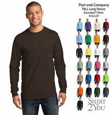 Port and Company Tall Long Sleeve Essential T-Shirt PC61LST