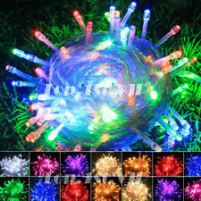 LED Christmas Tree Lights  Fairy String Xmas Party Wedding Indoor 6M 10M 20M 30M