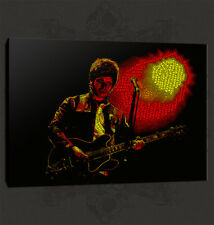 NOEL GALLAGHER OASIS MODERN MUSIC CANVAS PRINT MANY COLOURS READY TO HANG