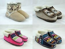 Women's Unisex Warm Winter Comfortable Booties House Slippers Shoe
