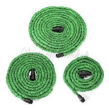 New 25/50/75 FT Portable Flexible Stretch Home Garden Car Water Hose Tube Pipe