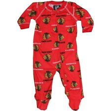 Chicago Blackhawks Red Raglan Coverall-8911