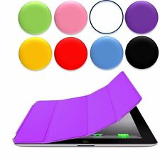 Magnetic PU Leather Smart  Stand Cover With Hard Back Case Sleep Wake For iPad