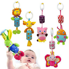Lovely Animals Baby Infant Bed Around Stroller Music Hang Bell Rattles Plush Toy