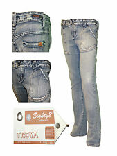 Womens Jeans Trousers Denim Ladies Casual Eighty 8 Miss Posh New