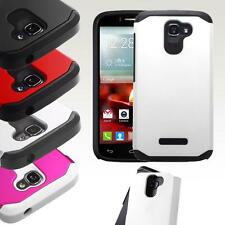 For Alcatel One Touch Fierce 2 7040 Hybrid ShockProof Protective Hard Case Cover