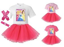 """Disney Princesses Three"" Personaliz​ed T-Shirt and Pink Tutu Set - NEW"