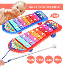 Kids Xylophone Toy Baby Toddler  8 Notes Glockenspiel Children Gift Tap-A-Tune
