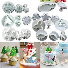 Frozen Princess Figures Sugarcraft Fondant Cake Plungers Cutter Decorating Mould