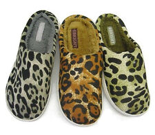 Soft Furry Warm Comfy Leopard Women House Winter Slippers Indoor Shoes 681592
