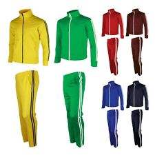 Womens Tracksuit Track Top Jacket Pants Jogging Sports Training Gym Warm Up Suit
