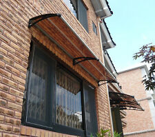 """Polycarbonate Awning / Canopy for entrance door or window CANOFIX PC-2 (19.7"""")"""