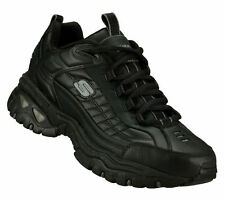 50081 Black Skechers New Mens  ENERGY - AFTER BURN Shoes Athletic Sport