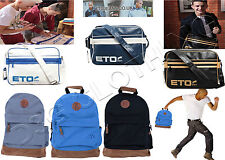 Mens Womens Boys Designer Leather Look Bag ETO jeans Retro Office School College