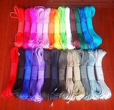1x Paracord 550 Parachute Rope 7 Core Strand 25/50/100FT For Climbing Camping