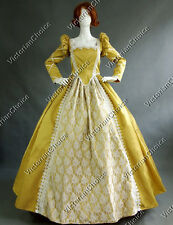 Queen Elizabeth I, Tudor Period Dress Corset Ball Gown Reenactment Theatre 154