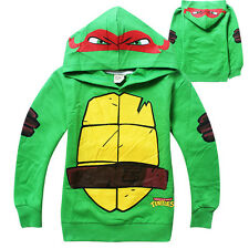 Teenage Mutant Ninja Turtles Baby Kids Boys Tops T-Shirt Hoodie Pullover Costume